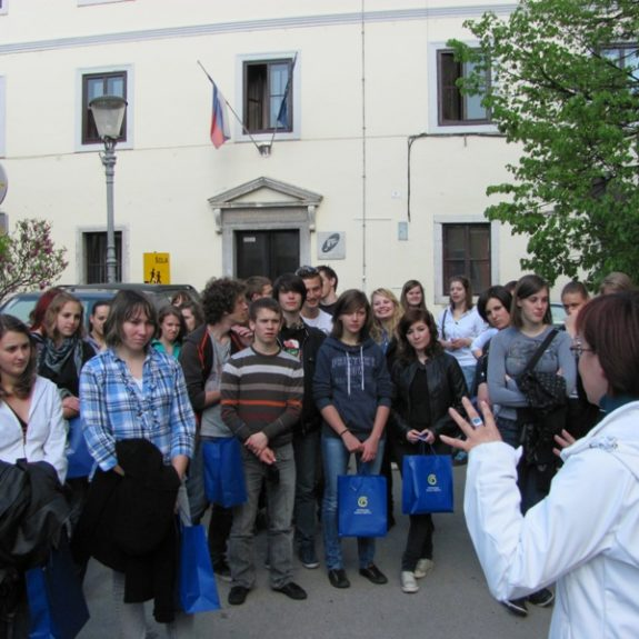 French guests in Novo mesto, 2011, foto S. H.